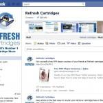 Refresh Cartridges on Facebook