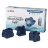 Related Product - <!-- g //-->Pack of 3 Original Xerox Cyan Solid Wax Ink Sticks for Xerox Phaser 8560 Printers (108R00723)