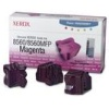 Related Product - <!-- h //-->Pack of 3 Original Xerox Magenta Solid Wax Ink Sticks for Xerox Phaser 8560 Printers (108R00724)