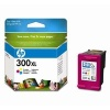 Colour Original Cartridges for HP Photosmart C4740 Printers (CC644EE) - HP 300XL