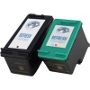 Remanufactured Valuepack - 2 Cartridges - 1 Black and 1 Colour for HP Photosmart 2575 Printers (C8767ee #339 / C9363ee #344)