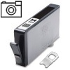 Photo Black Compatible Cartridges for HP Photosmart D5460 Printers (CB322EE/364XL) - HIGH YIELD - Without Chip; please click for instructions.