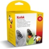 Multipack of 1x Black & 1x Colour Original Cartridges for Various Kodak Printers (Kodak 10/3947074) - 12ml & 50ml