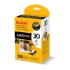Related Product - Original Colour 30CL Kodak Ink Cartridges & 120 Sheets Of Premium Photo Paper for Kodak ESP C110 Printers (3954856)