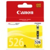 Original Yellow Canon Ink Cartridges for Canon Pixma MG6100 Printers (4543B001/CLI-526Y)