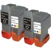 Basic Valuepack - 4 Cartridges - 2 Black and 2 Colour for Canon Pixma IP2000 Printers (BCI-24B & BCI-24C)