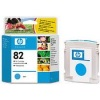 Cyan Original Cartridges for HP Designjet 510 Printers (C4911A/HP 82) 69ml - HIGH CAPACITY