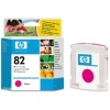 Magenta Original Cartridges for HP DesignJet 800 Printers (C4912A/HP 82) 69ml - HIGH CAPACITY