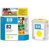 Yellow Original Cartridges for HP DesignJet 800 Printers (C4913A/HP 82) 69ml - HIGH CAPACITY