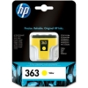 Yellow Original Cartridges for HP PhotoSmart C5173 Printers (C8773E/HP 363) 6ml