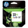 Colour Original Cartridges for HP Deskjet F388 Printers (C9352CE/HP 22XL)