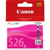 Original Magenta Canon Ink Cartridges for Canon Pixma MG6100 Printers (4542B001/CLI-526M)