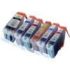 Everyday Valuepack - 6 Compatible Ink Cartridges for Various Canon Printers (BCI-3eBK/C/M/Y/PC/PM)