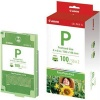 Original Canon Easy Photo Pack E-P100 - Ink & Photo Cartridges for Various Canon Printers (100 Prints)