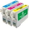 Colour Valuepack - 3 Cartridges - 1 Each of Cyan, Magenta and Yellow for Various Epson Printers (T0442/3/4)