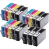 Super Saver Valuepack - 18 Compatible Ink Cartridges for HP Photosmart D5460 Printers (364XL BK/PBK/C/M/Y) - HIGH YIELD - Chipped and Ready to Use