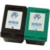 Remanufactured Valuepack - 2 Cartridges - 1 Black and 1 Colour for HP PhotoSmart C4173 Printers (C9364EE #337 / C8766EE #343)