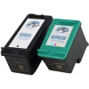 Remanufactured Valuepack - 2 Cartridges - 1 Black and 1 Colour for HP Deskjet D4260 Printers (CB336EE/HP 350XL & HP 351XL / CB338EE) - HIGH CAPACITY