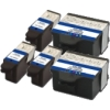 Everyday Valuepack - 5 Compatible Kodak 10 Ink Cartridges for Kodak ESP-5 All-In-One Printer Printers (3947058 & 3947066)