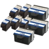 Super Saver Valuepack - 8 Compatible Kodak 10 Ink Cartridges for Various Kodak Printers (3947058 & 3947066)