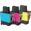 Colour Valuepack - 3 Compatible Ink Cartridges for Various Brother Printers (LC900C/M/Y)