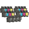 Related Product - Super Saver Valuepack - 20 Compatible Ink Cartridges for Brother Fax-1835 Printers (LC900Bk/C/M/Y)