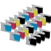 Super Saver Valuepack - 20 Compatible Cartridges for Various Brother Printers (LC1000Bk/C/M/Y)