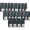 Super Saver Valuepack - 20 Compatible Ink Cartridges for Lexmark Interpret S405 Printers (100 C/M/Y/K) - High Capacity