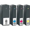 4 Compatible Lexmark 100 C/M/Y/K Ink Cartridges