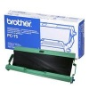 Original Brother Black Printer Ribbon Cassette for Various Brother Printers (PC-75)