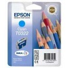 Cyan Original Cartridges for Epson Stylus C80 Printers (T0322)