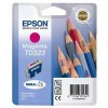 Magenta Original Cartridges for Epson Stylus C80 Printers (T0323)