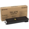 Original Black TK675 Toner Cartridges for Various Kyocera Printers (TK-675)