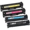 Remanufactured Valuepack of Toner Cartridges Canon 718K/C/M/Y for Canon i-SENSYS MF8360Cdn Printers (2662B002AA, 2661B002AA, 2660B002AA & 2659B002AA)