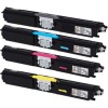 Remanufactured Valuepack of High Capacity Toner Cartridges for Epson AcuLaser CX16NF Printers (C13S050557 / C13S050556 / C13S050555 / C13S050554)