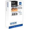 Black Original Cartridges for Epson WorkForce Pro WP-4095 DN Printers (T7011) - Extra High Capacity