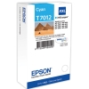 Cyan Original Cartridges for Epson WorkForce Pro WP-4095 DN Printers (T7012) - Extra High Capacity