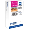 Magenta Original Cartridges for Epson WorkForce Pro WP-4095 DN Printers (T7013) - Extra High Capacity
