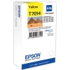 Yellow Original Cartridges for Epson WorkForce Pro WP-4095 DN Printers (T7014) - Extra High Capacity