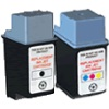 Related Product - Remanufactured Valuepack - 2 Cartridges - 1 Black and 1 Colour for HP Apollo P2100 Printers (C6614A / 51649A)
