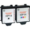 Related Product - Remanufactured Valuepack - 2 Cartridges - 1 Black and 1 Colour for HP DesignJet CP1160 Printers (C5011 / C5010)
