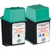 Remanufactured Valuepack - 2 Cartridges - 1 Black and 1 Colour for HP DeskJet 200 Printers (51626A / 51625A)