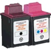 Remanufactured Valuepack - 2 Cartridges - 1 Black and 1 Colour for Various Lexmark Printers (17G0050 / 15M0120)