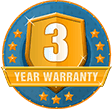 3 Year Guarantee on selected cartridge products