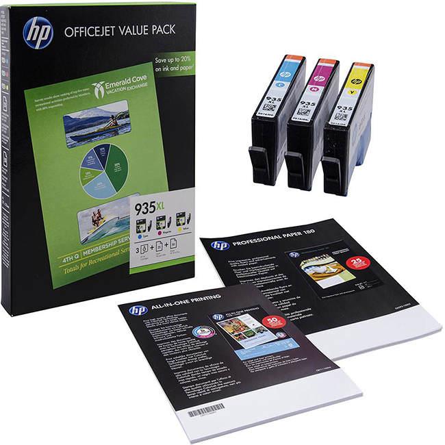 Original Hp 935xl Ink Cartridge Multipack