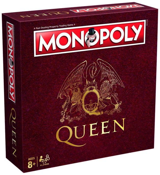 Monopoly Queen Rock Band Edition By Winning Moves