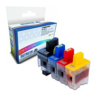 Everyday Valuepack of 4 Compatible Brother LC900 Ink Cartridges (LC900VALBPRF) Image