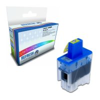 Compatible Brother LC41C/LC900C Cyan Ink Cartridge (LC-900C) Image