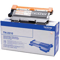 Brother FAX-2940 ready Original Brother TN2210 Black Toner Cartridges (TN-2210) Image