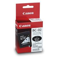 Canon BJ-200JC ready Original Canon BC-02 Black Ink Cartridge (0881A002) Image